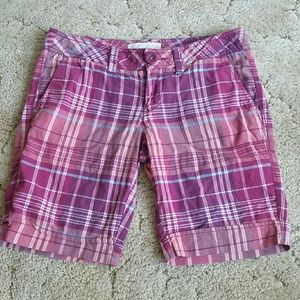 Aeropostale Pants - Aeropostale plaid shorts