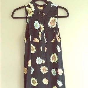Brandy Melville sunflower dress