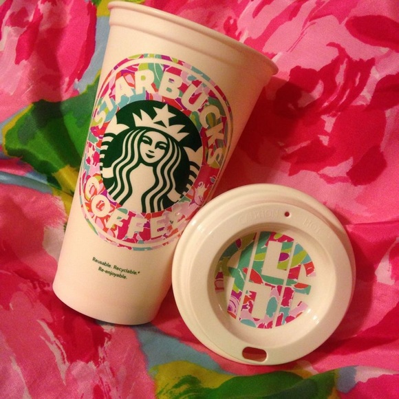 Lilly Pulitzer Lilly Pulitzer Starbucks Cup With Your