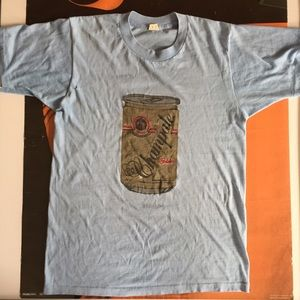 Tops - Super soft vintage Champ Ale tee