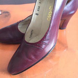 Ferragamo vintage red heels