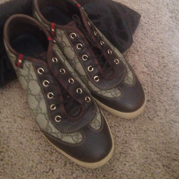 ff68f38f62f Gucci Shoes - Gucci sneakers with dust bag