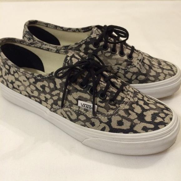 Alta qualit Vans Authentic Slim leopard vendita