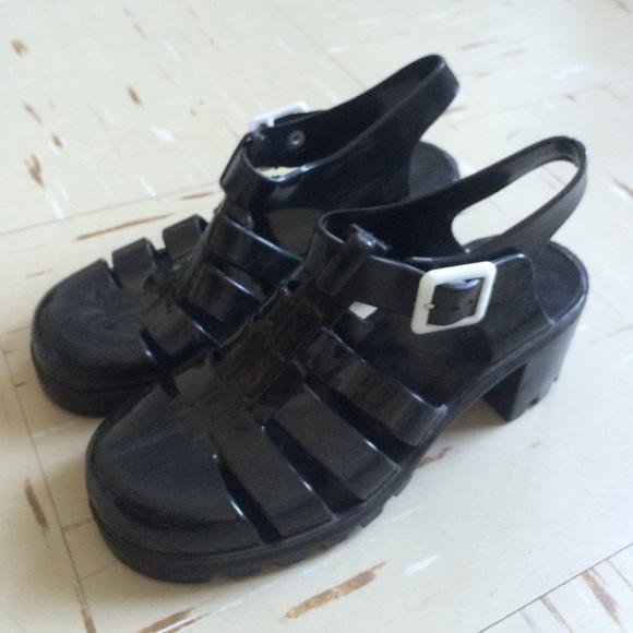 a502c609ec15 American Apparel Shoes - Black Juju sandals