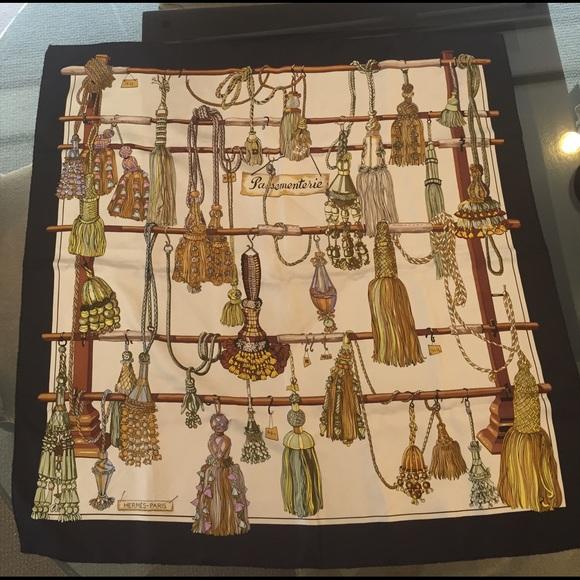Hermes Accessories   Passenenterie Silk Scarf   Poshmark 93d3843dd2a