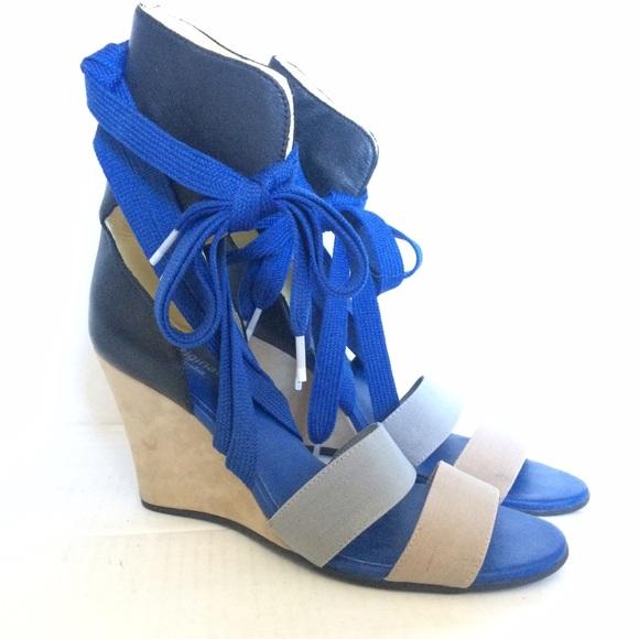 949cd720efa2 Adidas Shoes - ADIDAS ORIGINALS RARE Mesoa Sandal Wedge NEW Sz 9