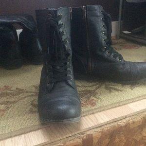 a9e2b9811543 jcpenney Shoes - Black Combat Boots