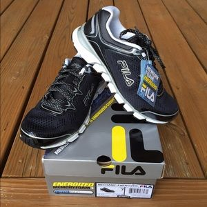 New Women's FILA Mechanic Energized Running Shoe Boutique