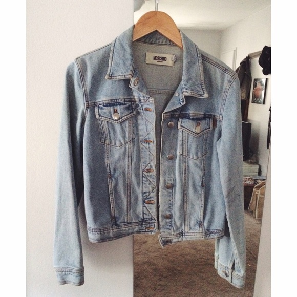 fd43a607cf67b Moschino Denim Jacket. M_55f9e0efd14d7bfe26000661. Other Jackets & Coats ...