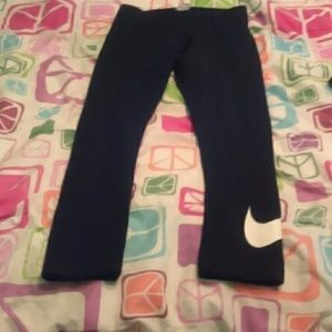 Nike black workout pants S