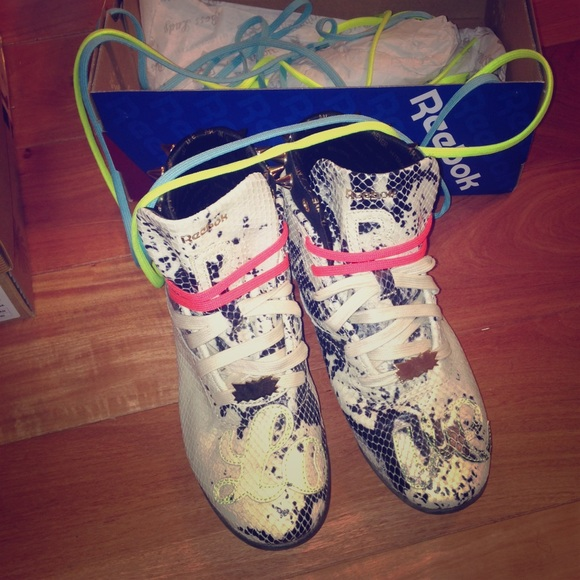 9ebe64aee9d Melody Ehsani for Reebok Spike Sneakers. M 55f9eef536d59480b4000b19