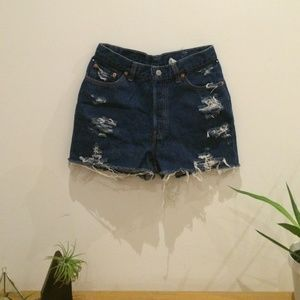 Vintage Levi's Distressed Shorts