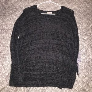 Grey and black small sweater from target