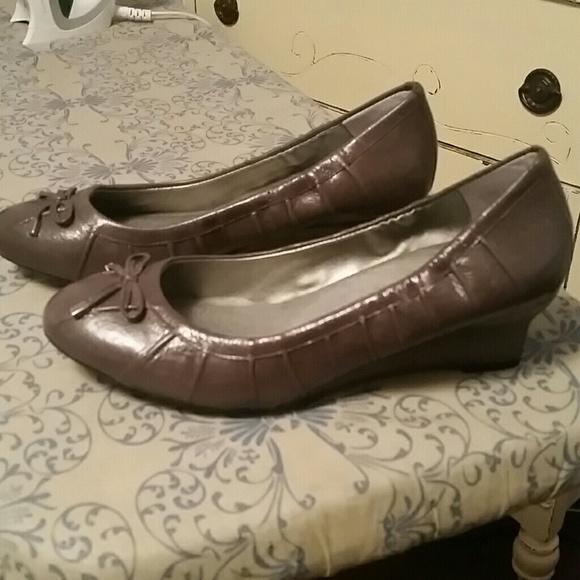 d016372ea48d8e me too Shoes | Wedge Heel Ballet Style Shoe | Poshmark
