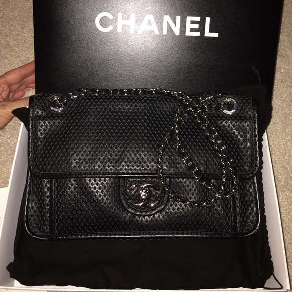 f7166cffa54c CHANEL Bags | Sold Up In The Air Black Flap Bag | Poshmark