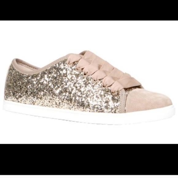d4e22692b8 ALDO Shoes | Glitter Sneakers | Poshmark