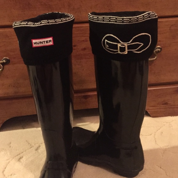 286ee0b4d66 Hunter Rain Boot Fleece Welly Sock Liners! NWT