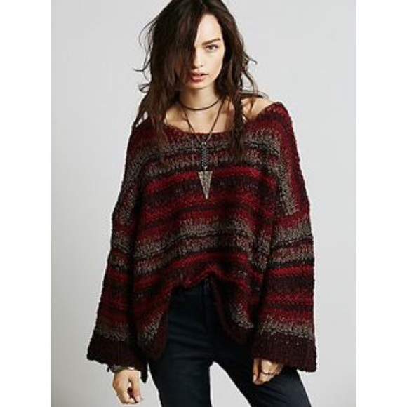 77% off Free People Sweaters - FREE PEOPLE DOLMAN -SLEEVE, MULTI ...
