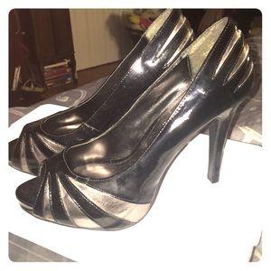 Open toe Steve Madden heels