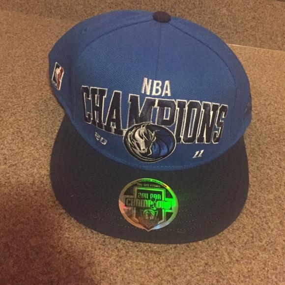 c1440cfae26 Adidas Accessories - Never worn Mavericks champions hat 2011 NBA!