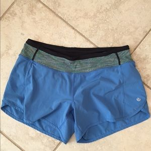 lululemon athletica Pants - Lululemon Turbo Run Shorts
