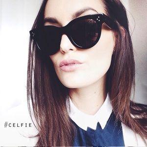 6dc06c3e222d Celine Accessories - Celine Baby Audrey black sunglasses