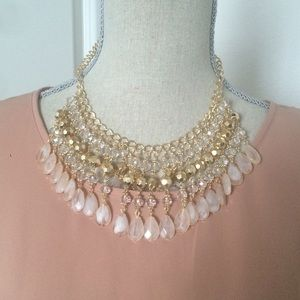 Beautiful statement necklace set.