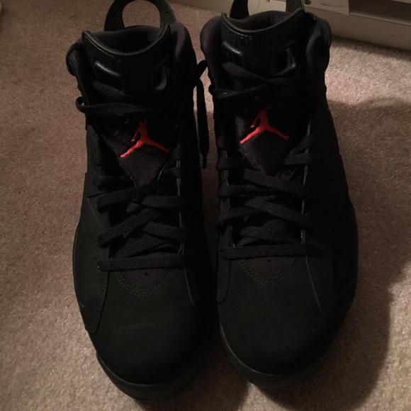17% off Jordan Shoes - AIR JORDAN 6 RETRO BLACK INFRARED SIZE 13 ...