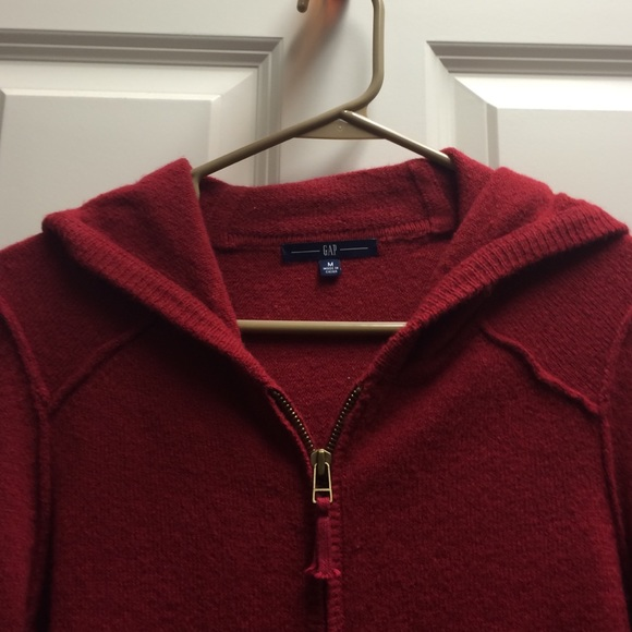 72% off GAP Sweaters - Gap Hooded Sweater Zip Up Front from Holly ...
