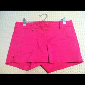 Cache hot pink shorts