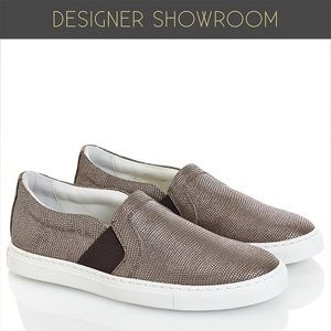 Lanvin Shoes - Slip on leather sneakers by Lanvin  sz 6, 7, 8, 10