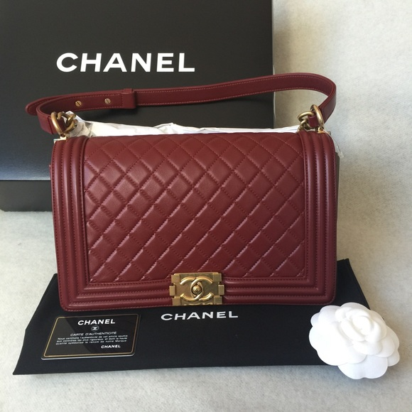 e73786a5deb3 🎉🎉🎉SOLD🎉🎉🎉Chanel Boy flap bag medium plus