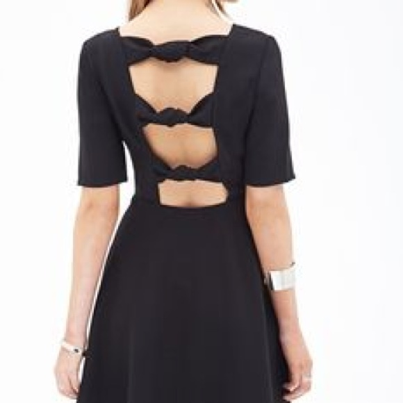 Black dress forever 21 returns