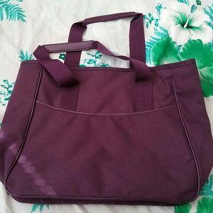 d31c035a5497 Puma Bags - Puma vintage purple canvas bag.