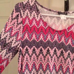 Pink boho chic dress 