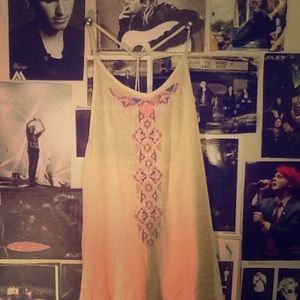 Tops - Sleeveless top.