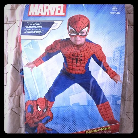 Spiderman Costume For Toddler 3T  4T Sc 1 St Poshmark