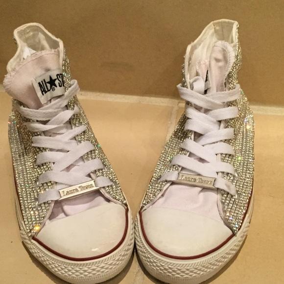 48e86af1c19017 Brand new Lmited edition Swarovski All star shoes
