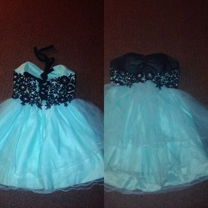 Teal Prom/Homecoming dress