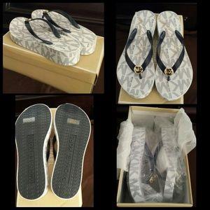 d56c2b647597 MICHAEL Michael Kors Shoes - Mk fit flops   sandals   wedges   navy color