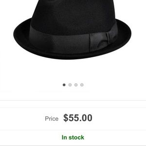 a309104d8c882 Macy s Other - Men s Wool felt fedora with grosgrain ribbon
