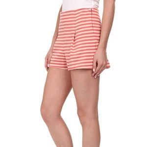 Free People Striped Clean Shorts