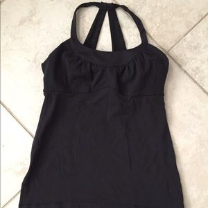 lululemon athletica Tops - Lululemon Black Scoop Me Up Tank