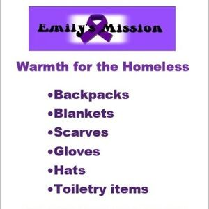Other - Help give the homeless warmth this winter! 💜💜