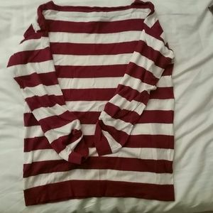 PRICE SLASH J crew striped sweater top