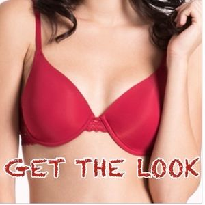 38 degrees Other - NWT 34C RED PUSH UP BRA
