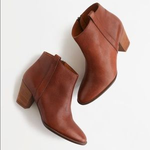 Madewell Billie Boot, Pecan, Size 10