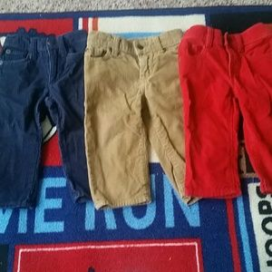Other - Bundle Cordoroy pants 12-18M