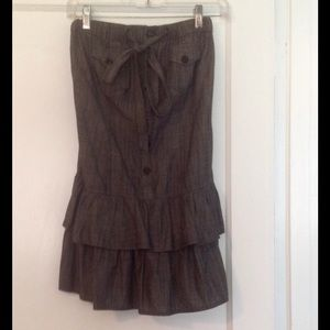 Dresses & Skirts - Closet Cleanout!💕Cute Grey Skirt!