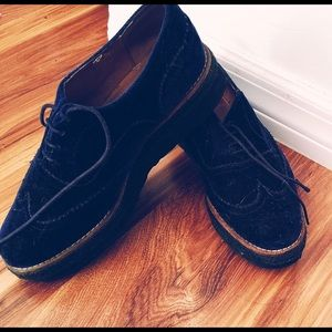 Dolls Kill - Blue velvet creepers - worn 3 times